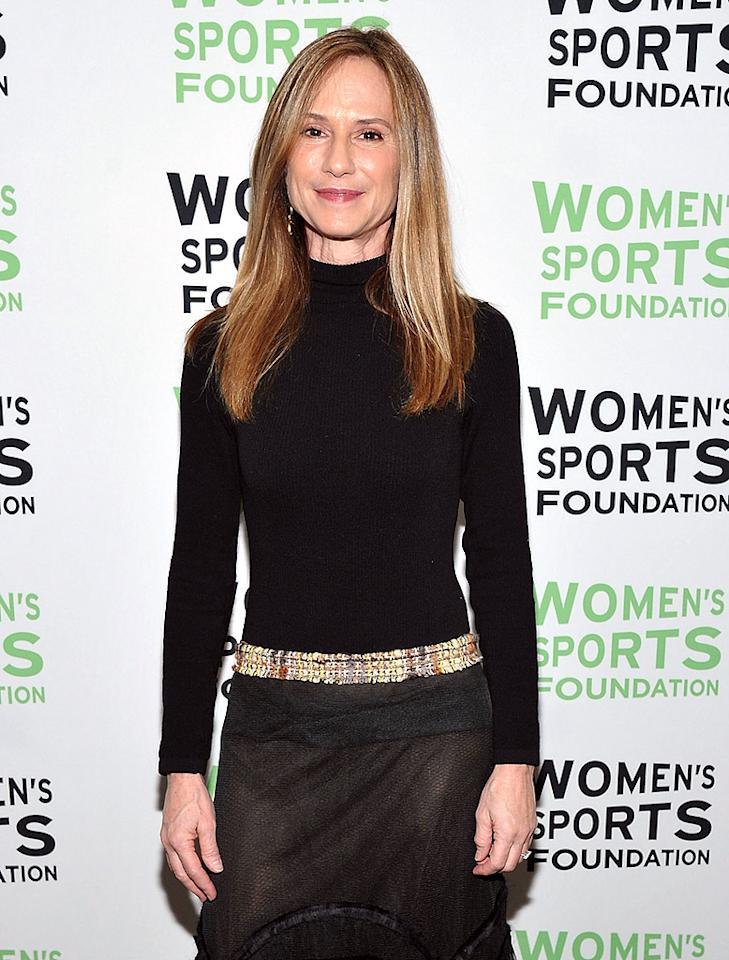 "<span style=""font-size:11.0pt;color:black;"">Holly Hunter has been so mum on her twin sons – who she delivered in 2006 when she was 47 – she never even revealed their names. Some reports have claimed the boys, whose father is Hunter's longtime boyfriend British actor Gordon MacDonald, are called Claude and Press, but the Oscar-winning actress has yet to confirm ... and we doubt she will.</span>"