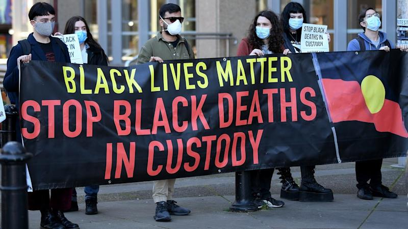BLM PROTEST SUPREME COURT HEARING