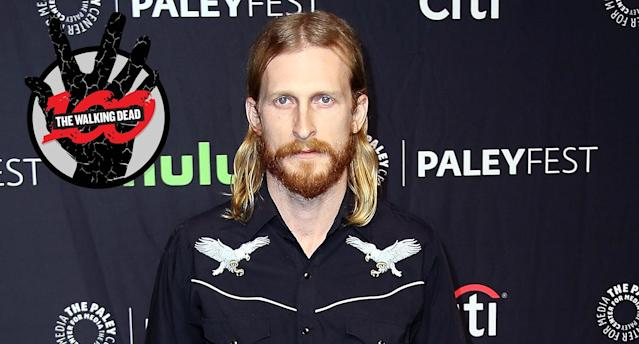 Austin Amelio at The Paley Center for Media's 34th Annual PaleyFest Los Angeles opening night presentation of 'The Walking Dead' at Dolby Theatre on March 17, 2017 in Hollywood, California (Photo: David Livingston/Getty Images)