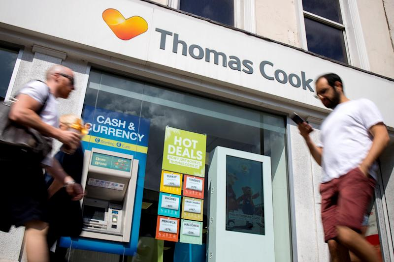 Thomas Cook: Getty