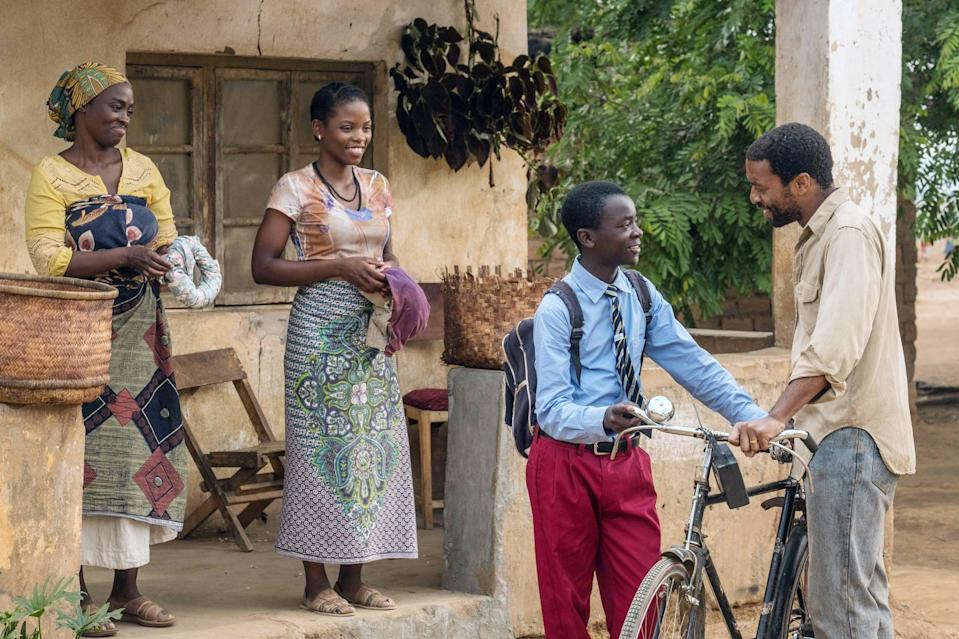 """<p>In an attempt to save his village from famine, a 13-year-old boy sneaks into his school's library and learns to build a wind turbine to create energy. </p> <p><a href=""""http://www.netflix.com/title/80200047"""" class=""""link rapid-noclick-resp"""" rel=""""nofollow noopener"""" target=""""_blank"""" data-ylk=""""slk:Watch The Boy Who Harnessed the Wind on Netflix now."""">Watch <strong>The Boy Who Harnessed the Wind</strong> on Netflix now.</a></p>"""