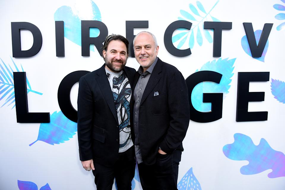 "Amasia Entertainment founders Bradley Gallo and Michael Helfant at the ""Them That Follow"" party at Sundance Film Festival 2019. (Photo by Vivien Killilea/Getty Images for AT&T and DIRECTV)"