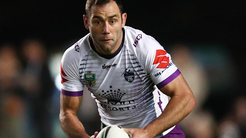 Cameron Smith's boot lifted Melbourne to their 14-13 NRL victory over arch rivals Manly
