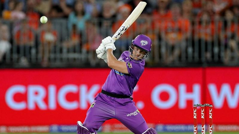Hurricanes star D'Arcy Short has smashed an unbeaten ton to guide his side of victory over Perth