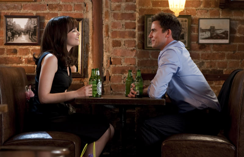 "In this publicity image released by Warner Bros. Pictures, Ginnifer Goodwin, left, and Colin Egglesfield are shown in a scene from, ""Something Borrowed."" (AP Photo/Warner Bros., David Lee)"