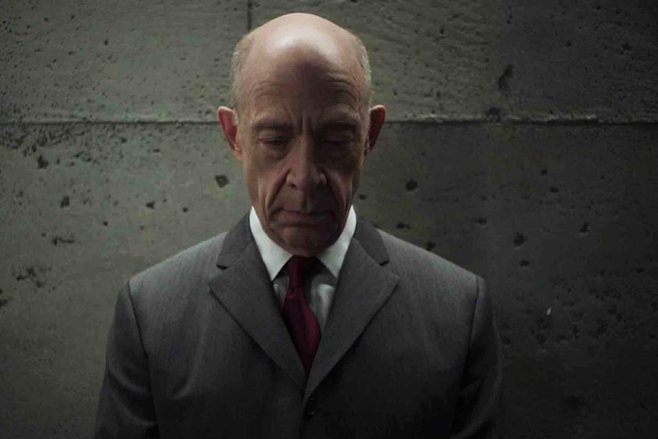 """<p><b>The one-sentence pitch: </b>It's double the J.K. Simmons in this espionage tale that unfolds in parallel universes. """"It's a science-fiction spy thriller about two worlds that are in competition with each other, and the people who inhabit those worlds are in competition with themselves,"""" teases <i>Counterpart</i> creator Justin Marks.<br><br><b>What to expect:</b> """"This show is derived from the tradition of a John le Carré-style, Berlin Wall-esque thriller,"""" Marks explains. """"We wanted to do a show where the Berlin Wall wasn't a physical construct but a metaphysical construct."""" On one side of the metaphysical wall partitioning the show's two worlds, Howard Silk (Simmons) is a bureaucratic worker bee frustrated with his life and career. But the Howard who exists on the other side is noticeably different. """"One has developed into much more of an alpha than the other,"""" Simmons says.<br><br><b>Standup stand-in: </b>Allow us to introduce you to the secret star of <i>Counterpart</i>: Simmons's stand-in, John Funk, who played one Howard while Simmons played the other. """"John ended up being really critical to the success of the work,"""" says Simmons. """"None of his work will be seen by anyone who wasn't there on set that day, and that's unfortunate, because I really appreciated what he was giving me every day."""" <i>— Ethan Alter</i><br><br>(Photo: Starz) </p>"""