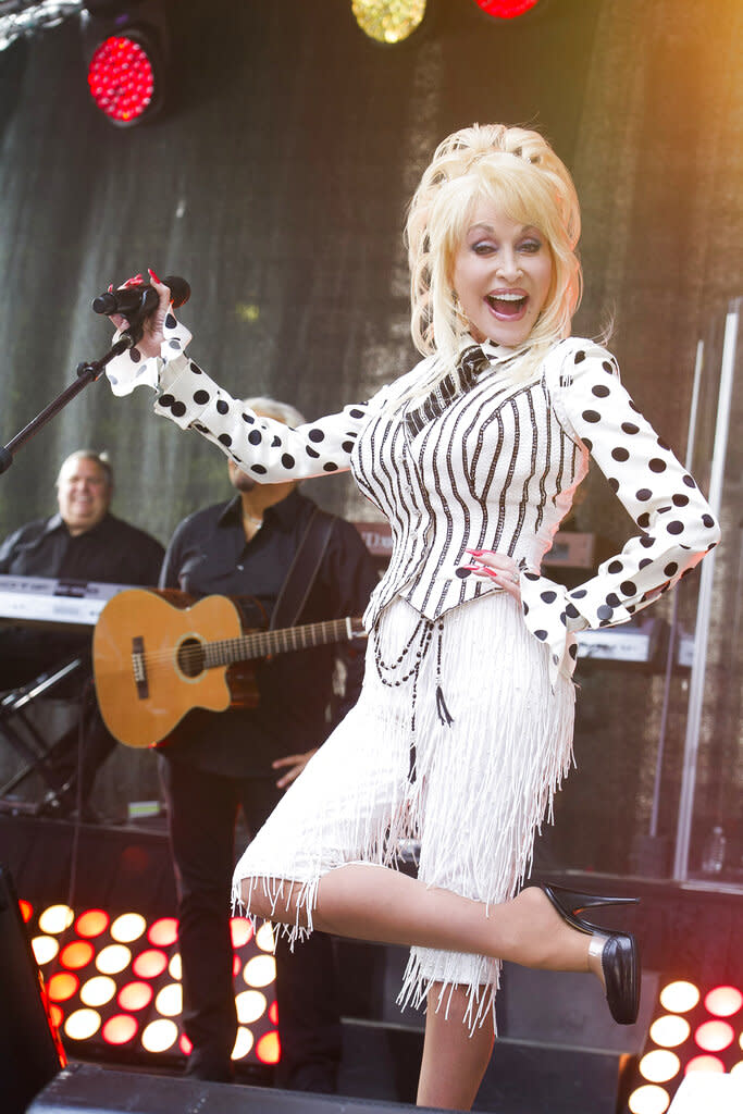 Dolly Parton wanted to pose for Playboy for her 75th birthday. Instead, she's getting the next best thing. (Charles Sykes/Invision/Associated Press)