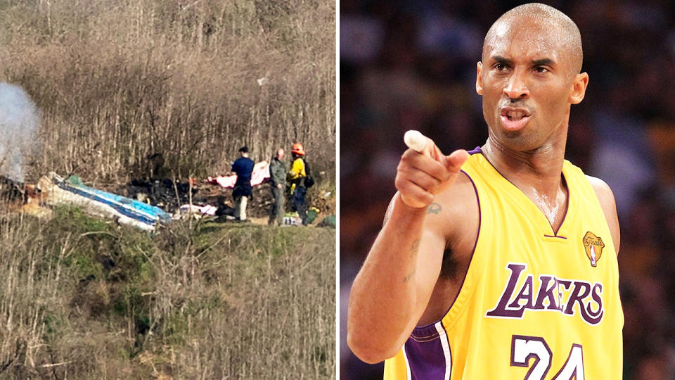 Kobe Bryant, pictured here in action for the LA Lakers before his tragic death.