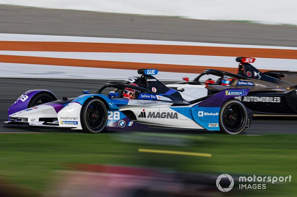 """Maximilian Gunther, BMW I Andretti Motorsports, BMW iFE.21, Jean-Eric Vergne, DS Techeetah, DS E-Tense FE20<span class=""""copyright"""">Malcolm Griffiths / Motorsport Images</span>"""