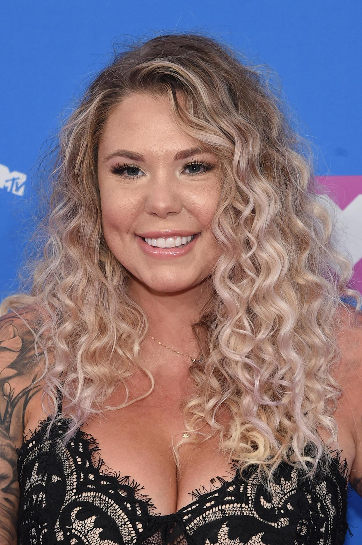 Kailyn Lowry is making fun of fellow <i>Teen Mom</i>&nbsp;star Jenelle Evans. (Photo: Jamie McCarthy/Getty Images)
