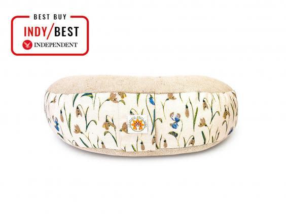 Wind down after practice with a meditation cushion that will ease sore muscles The Independent)