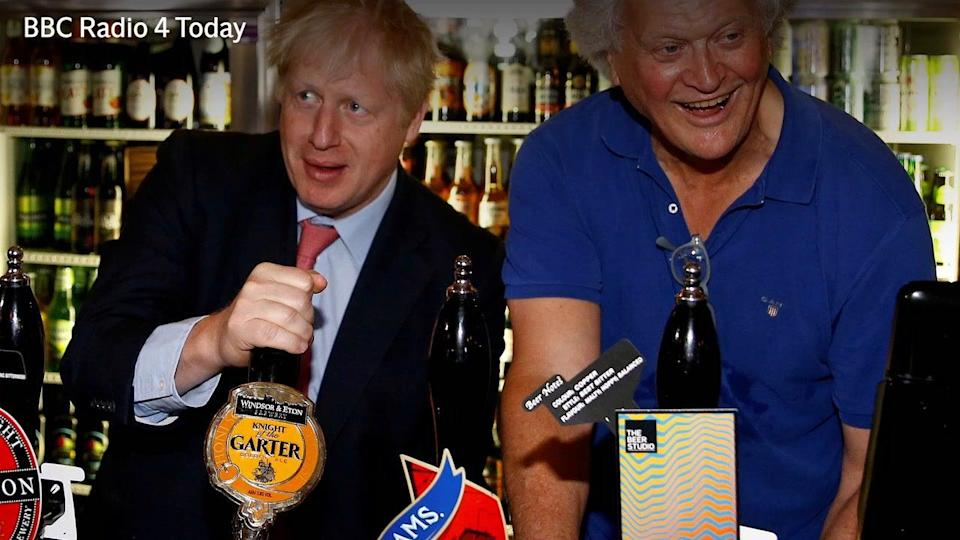 Wetherspoon's boss Tim Martin compares closing pubs over coronavirus to shutting Parliament