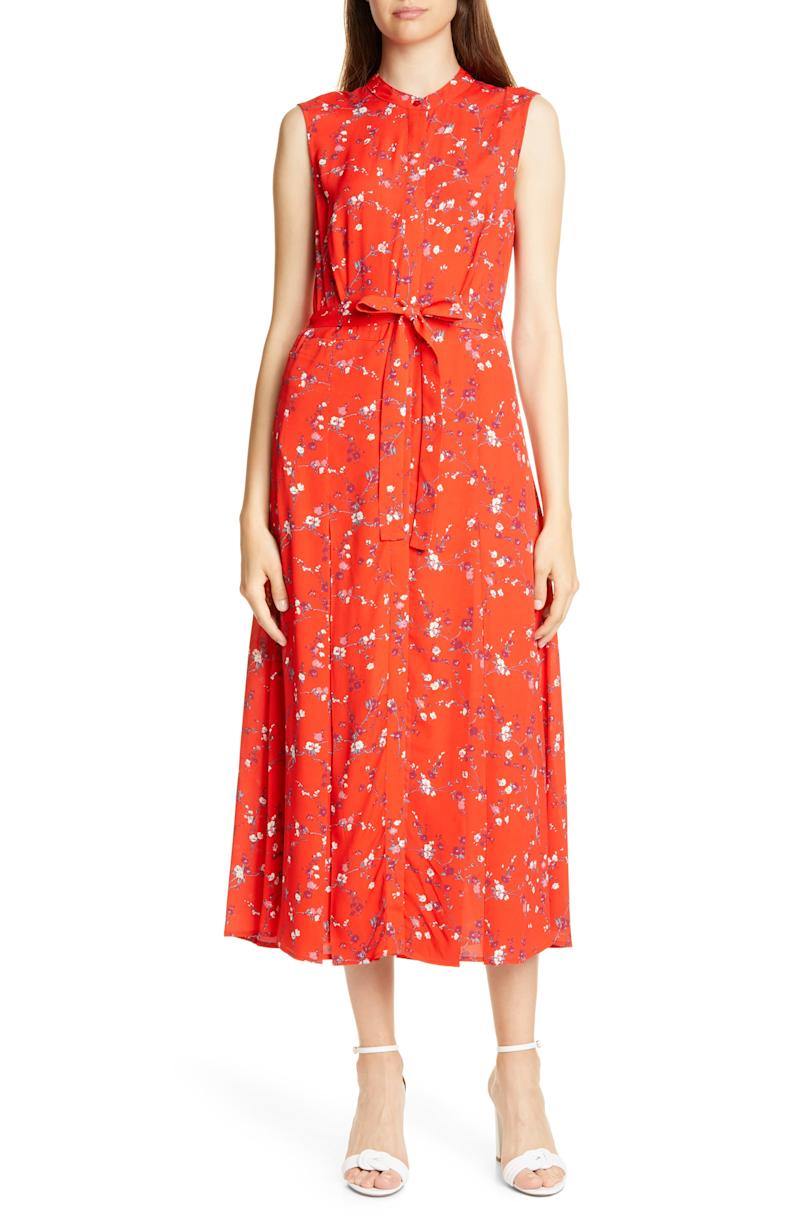 Salerno Floral Midi Dress.