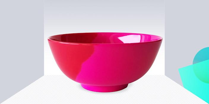 """<div class=""""caption""""> If melamine bowls reminiscent of epic sunsets don't inspire you to cook more, we're not sure what will. <br> <a href=""""https://fave.co/31VS6f7"""" rel=""""nofollow noopener"""" target=""""_blank"""" data-ylk=""""slk:SHOP NOW"""" class=""""link rapid-noclick-resp"""">SHOP NOW</a>: Set of 4 Melamine Bowls by Thomas Fuchs Creative, $31, wayfair.com<br> </div> <cite class=""""credit"""">Photo courtesy of Barneys New York</cite>"""