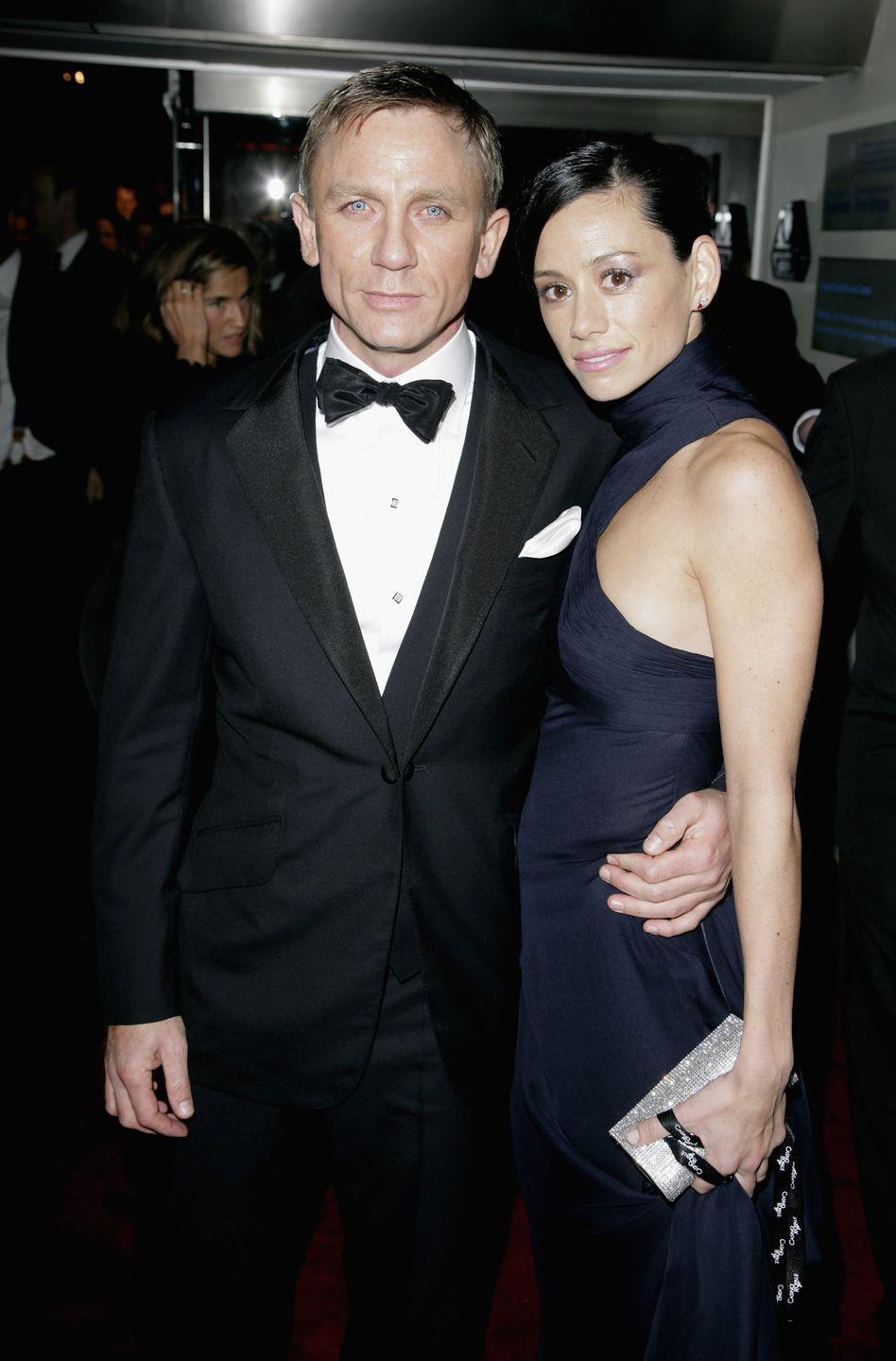 """<p>The James Bond actor proposed in 2007 after six years together but <a href=""""http://www.dailymail.co.uk/tvshowbiz/article-2010478/Family-fiancee-Daniel-Craig-dumped-reveal-left-torment.html"""" rel=""""nofollow noopener"""" target=""""_blank"""" data-ylk=""""slk:the wedding was called off"""" class=""""link rapid-noclick-resp"""">the wedding was called off</a> in 2011 just before Craig married Rachel Weisz. """"We heard about it like everyone else, by reading the newspapers,"""" Mitchell's father said. </p>"""