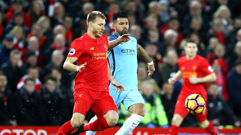 Liverpool defender Klavan does not fear Aguero