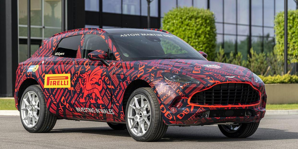 New Aston Martin >> New Aston Martin Dbx Suv Details Revealed By Preproduction