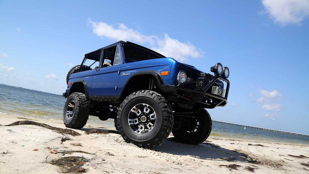 Slide Behind The Wheel Of This Stunning 1972 Ford Bronco