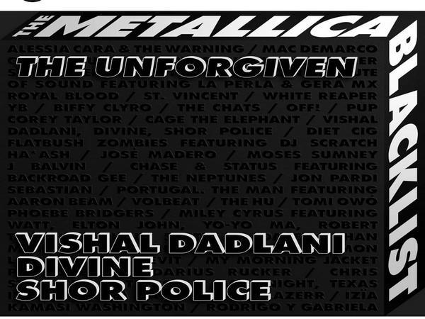 Poster of song 'The Unforgiven'