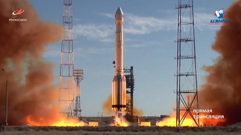 Russia launches space telescope, Spektr-RG, that is developed along with Germany