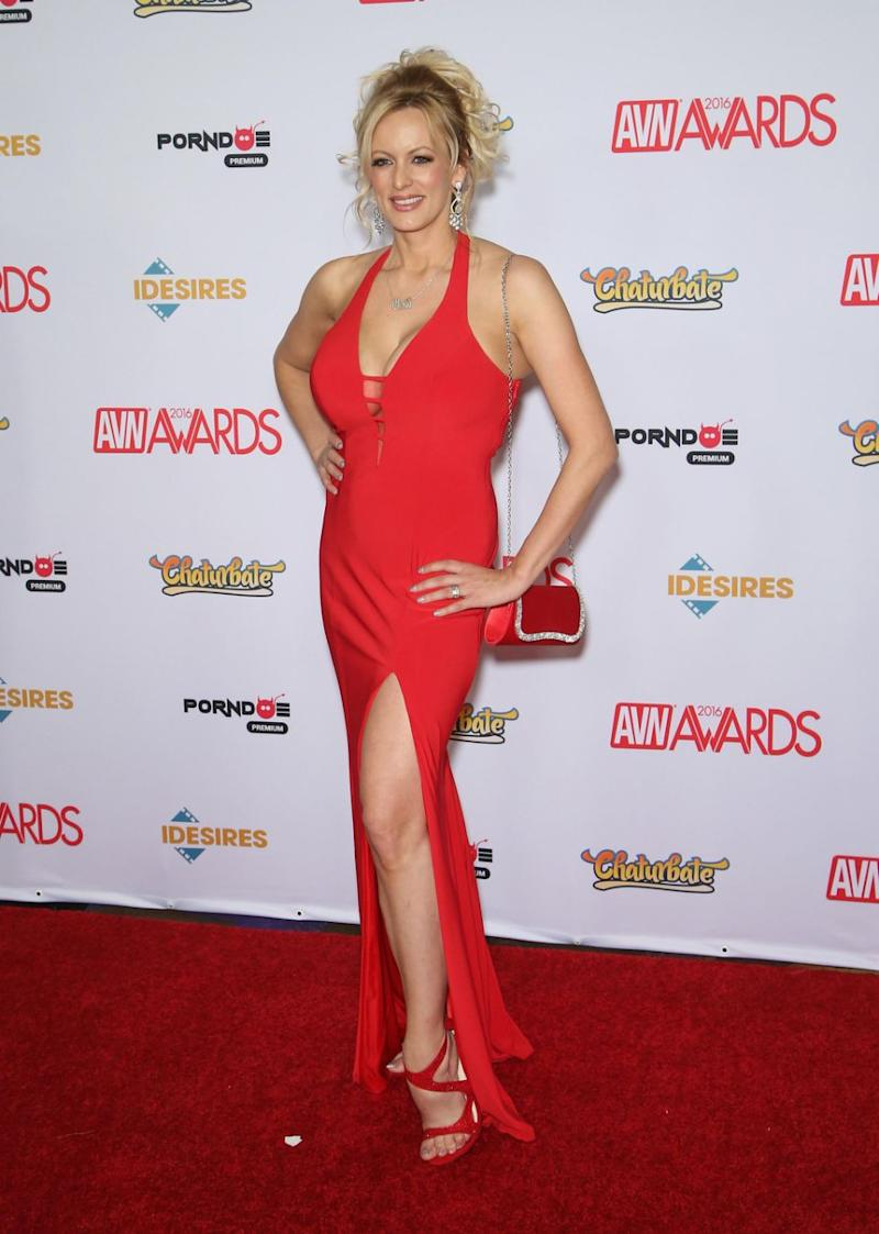 Stormy Daniels has revealed all the details about her alleged affair with Donald Trump. Photo: Getty Images