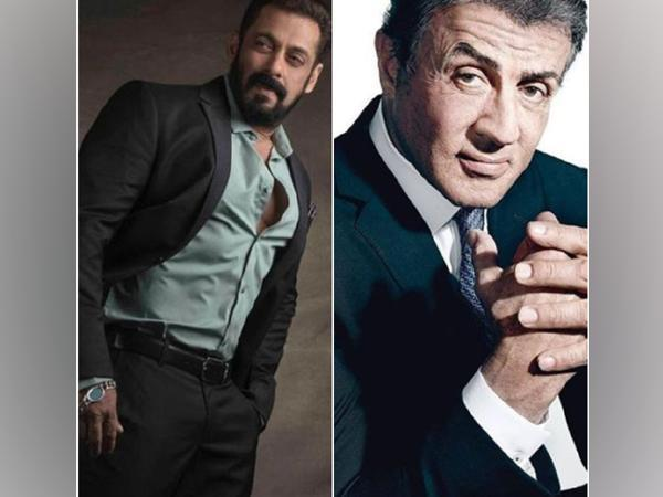 Salman Khan and Sylvester Stallone (Image source: Instagram)