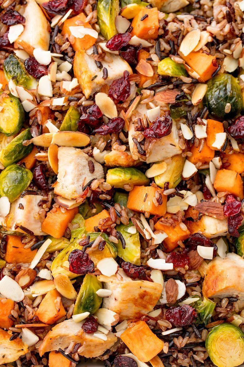 """<p>This satisfying casserole has ALL of your autumn favourites. Make it for a big crowd, or pack it up and eat the leftovers for lunch! It's a meal prep DREAM.</p><p>Get the <a href=""""https://www.delish.com/uk/cooking/recipes/a29651660/healthy-chicken-casserole-recipe/"""" rel=""""nofollow noopener"""" target=""""_blank"""" data-ylk=""""slk:Healthy Chicken Casserole"""" class=""""link rapid-noclick-resp"""">Healthy Chicken Casserole</a> recipe.</p>"""