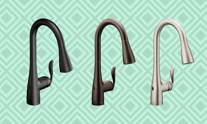 Save nearly 60 percent off gorgeous faucets today. (Photo: Amazon)