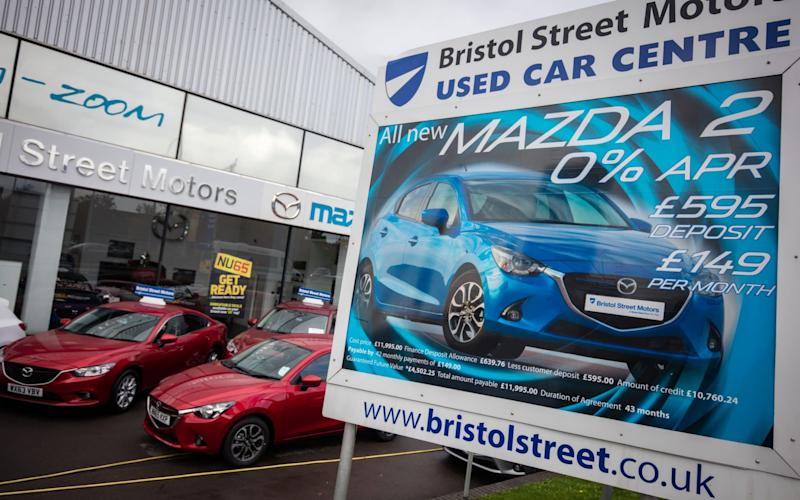 Offers on new cars are fuelling a boom in auto industry finance - Getty Images Europe