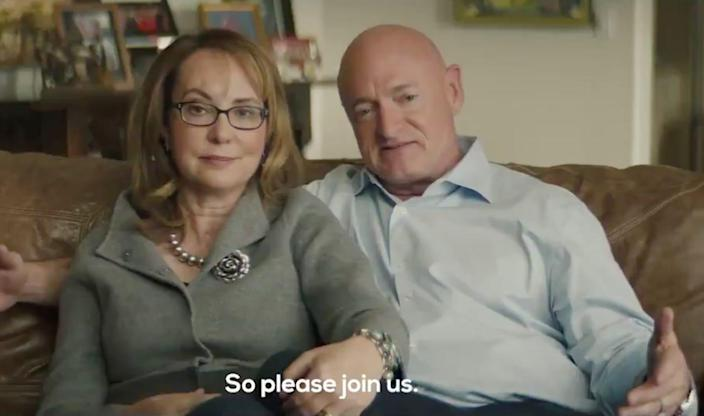 mark kelly gabrielle giffords video