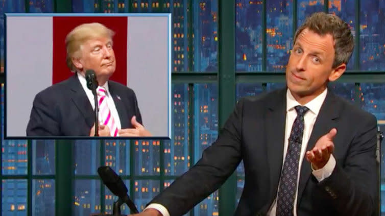 Seth Meyers Lays It Out: 'Our President Is An A**hole'