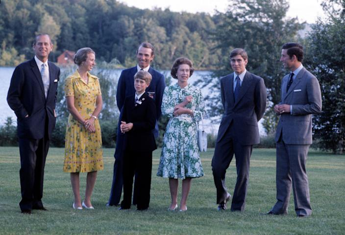 Royal family 1976