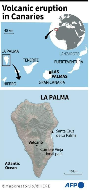 Spain: volcanic eruption in Canary Islands (AFP/Tupac POINTU)