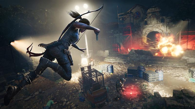 Shadow Of The Tomb Raider Gameplay Shows Lara Becoming One