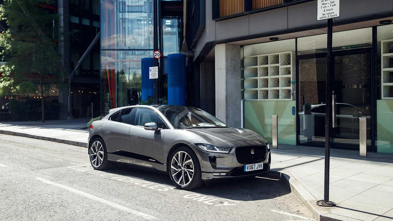 """<p>The <a href=""""/jaguar/i-pace"""" target=""""_self"""">Jaguar I-Pace</a> isn't just a handsome SUV. Its all-<a href=""""/tag/electric"""" target=""""_self"""">electric</a> powertrain gives it a range of 234 miles between charges while also packing a performance punch with 0-60 times in the mid-four-second range.</p><h2>Winners all around:</h2><ul><li><a href=""""https://uk.motor1.com/news/307833/jaguar-i-pace-european-car-of-the-year/?utm_campaign=yahoo-feed"""">Jaguar I-Pace wins European Car of the Year</a></li><br><li><a href=""""https://uk.motor1.com/news/344378/audi-suzuki-jd-power-satisfaction/?utm_campaign=yahoo-feed"""">Audi and Suzuki dealers top UK service satisfaction charts</a></li><br></ul>"""
