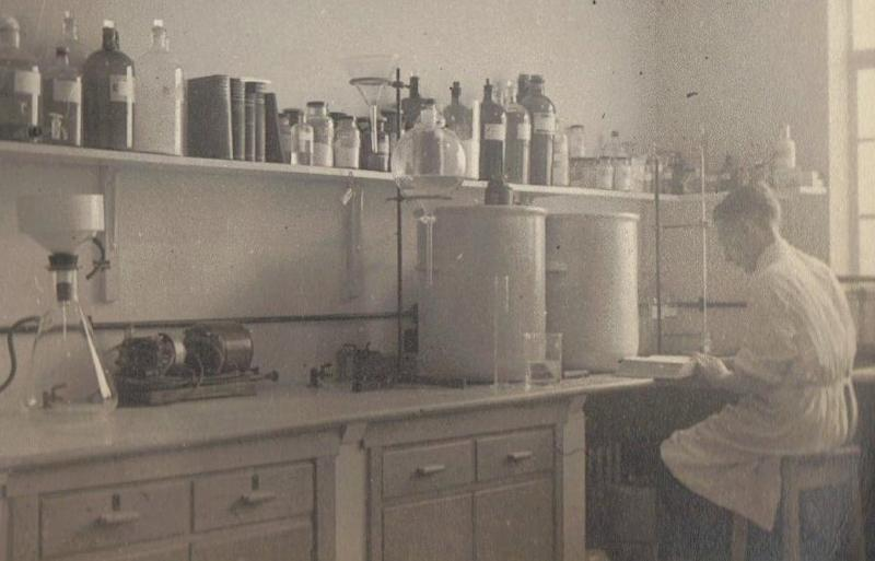 Jack Bowden was based in Clevedon, Somerset, where he worked on production of Penicillin (Picture: SWNS)