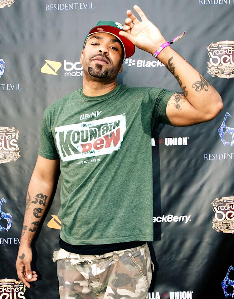 SAN BERNARDINO, CA - AUGUST 19:  Method Man aka Clifford Smith at NOS Events Center on August 19, 2012 in San Bernardino, California.  (Photo by Gabriel Olsen/FilmMagic)