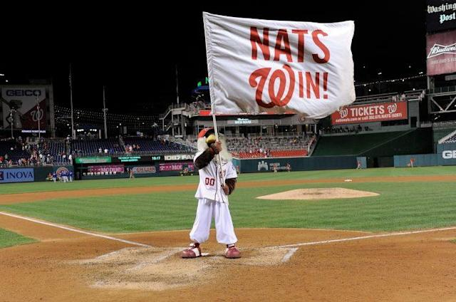 The Nationals are hoping for some playoff success this time around. (Getty Images/Greg Fiume)
