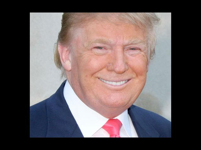 <b>6. Donald Trump</b><br> He has what few have in his age. He can boast of- dense free-flowing hair, and thus a signature hairstyle. He makes sure he dresses accordingly. Red seems a favourite colour for his ties.