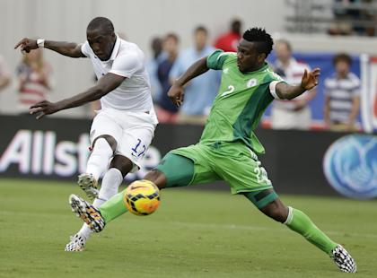 Jozy Altidore's second goal against Nigeria showed a striker with plenty of confidence. (Getty)