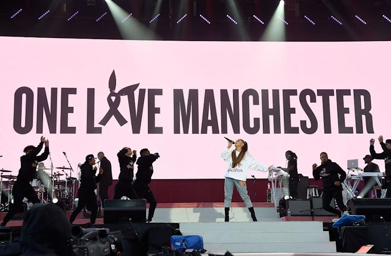 b8900c1b You can get Ariana Grande's One Love Manchester sweatshirt *and* support  victims of the terrible attack