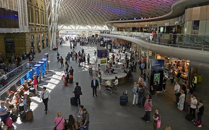 Fast food: SSP owns concessions at King's Cross rail station: AFP/Getty Images
