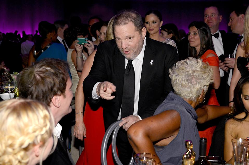 HOLLYWOOD, CA - FEBRUARY 24:  Producer Harvey Weinstein attends the Oscars Governors Ball at Hollywood & Highland Center on February 24, 2013 in Hollywood, California.  (Photo by Kevork Djansezian/Getty Images)