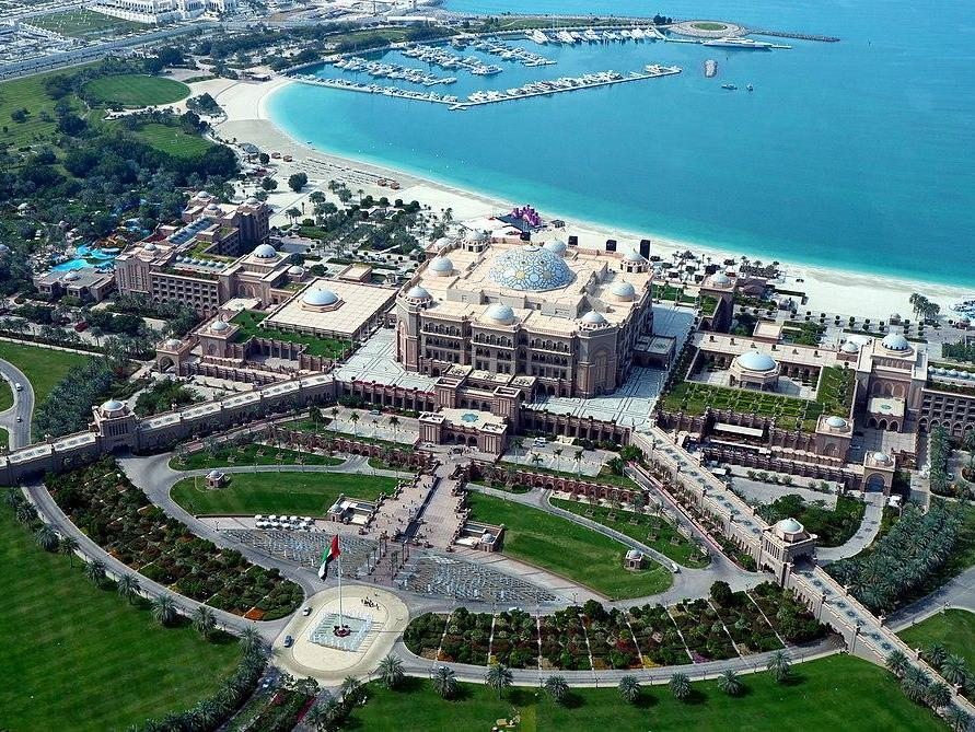 Juan Carlos is reportedly staying at the ultra-luxury five-star Emirates Palace Hotel in Abu Dhabi: Chris Down