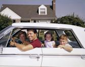 <p>Sweltering and sticking to the vinyl seats in the family sedan because there was no AC. You could roll down the windows or open the triangular vents up front for a fresh breeze—but that only worked when the car was moving, of course.</p>