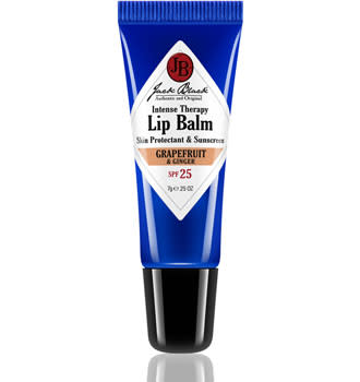 Packed with shea butter and avocado oil, this squeezable balm has become a popular choice for both preventing and soothing cracked, dry lips. Try the grapefruit ginger flavor for a refreshing summer option. Jack Black Intense Therapy Lip Balm SPF 25 ($8)