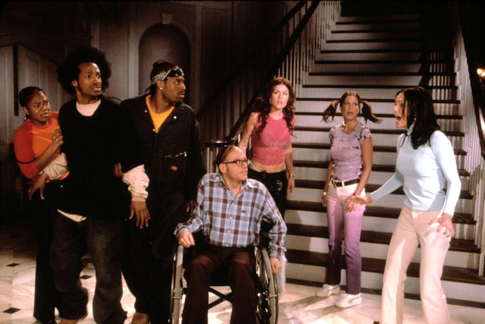 """<p>In the year of our Lord 2020, it's high time that we gave Regina Hall her roses. She <em>bodied</em> the infamous role of Brenda in the <em>Scary Movie</em> franchise, but her stand-out reprisal in <em>Scary Movie 2 i</em>s filled with so many one-liners, it's hard not to talk back to the screen. — <em>BJ</em></p> <p><a href=""""https://www.amazon.com/Scary-Movie-2-Anna-Faris/dp/B00AYB14LE/ref=sr_1_1?dchild=1&keywords=Scary+Movie+2&qid=1592941973&s=instant-video&sr=1-1"""" rel=""""nofollow noopener"""" target=""""_blank"""" data-ylk=""""slk:Stream on Amazon Prime Video"""" class=""""link rapid-noclick-resp""""><em>Stream on Amazon Prime Video</em></a> </p>"""