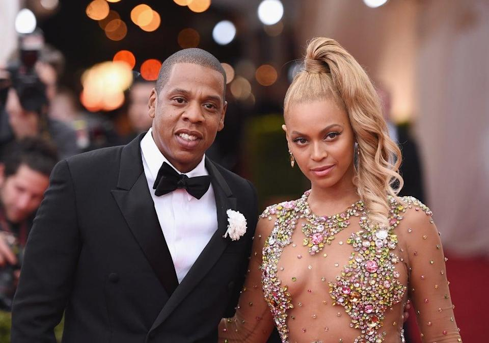 Jay-Z and Beyonce criticised over Tiffany ad featuring Basquiat painting (Getty Images)