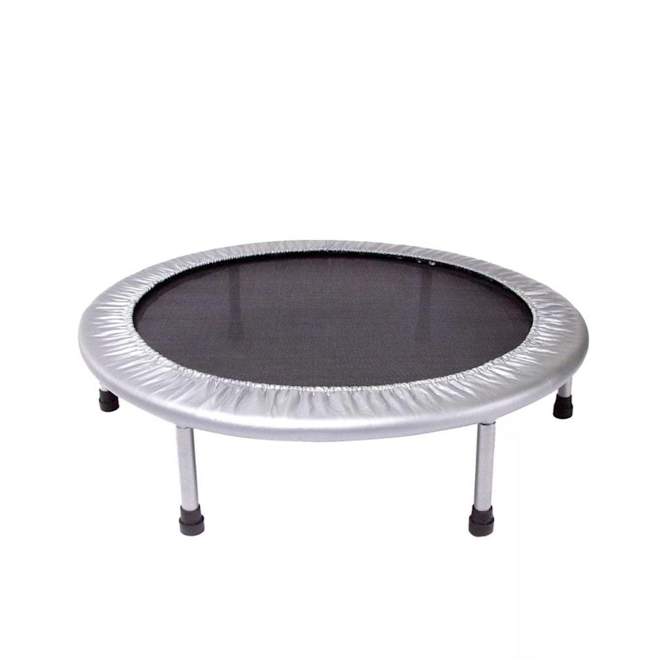 "As the weather gets chillier and <em>everyone's</em> bouncing off the walls, a mini trampoline offers a less-destructive outlet for pent-up energy. $48, Target. <a href=""https://www.target.com/p/stamina-36-folding-trampoline/-/A-14991206"" rel=""nofollow noopener"" target=""_blank"" data-ylk=""slk:Get it now!"" class=""link rapid-noclick-resp"">Get it now!</a>"