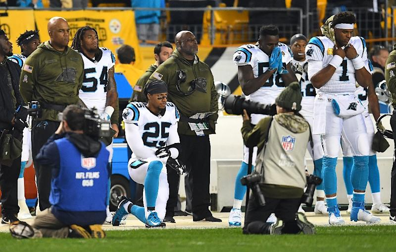 NFL protest kneeler Reid signs three-year Panthers deal e83c3593e